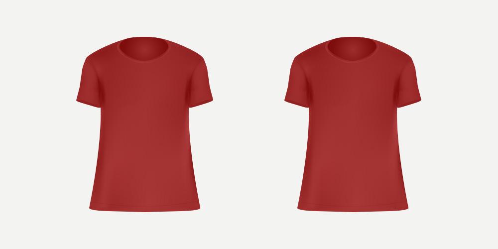 赤いTシャツ