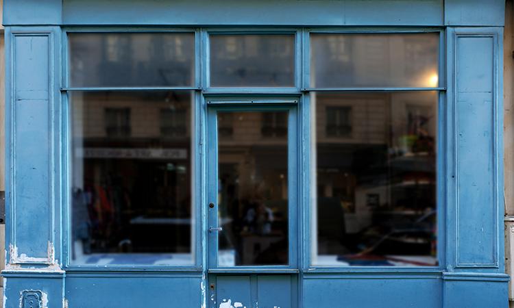 パリの個人商店