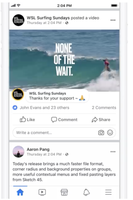 Facebookのインストリーム動画に表示される広告